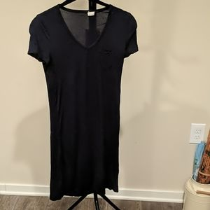Navy BNY co-op t shirt dress, xs